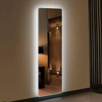 Зеркало с подсветкой для ванной комнаты Лайт 135х45 см