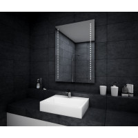 Зеркало с подсветкой для ванной комнаты Рико 135х45 см